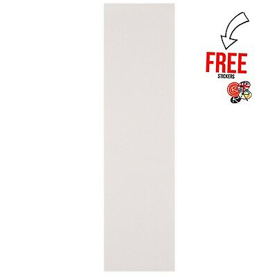 Enuff Skateboards See-through Griptape 9″ Wide, Clear (Fits all Skateboards)