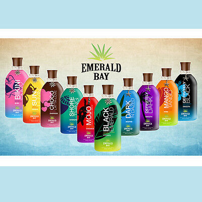 Emerald Bay Sunbed Tanning Accelerator Lotions Bronzer Cream 250ml FREE P&P!