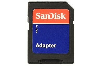 NEW - 2 x Original SanDisk microSD to SD Memory Card Adapter - Canada