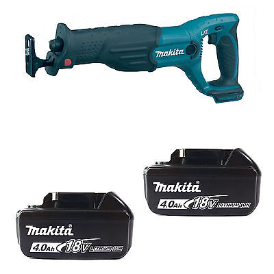 Makita 18V Lxt Bjr182Z Reciprocating Saw 2 Bl1840 Batteries Fuel Cell Indicator
