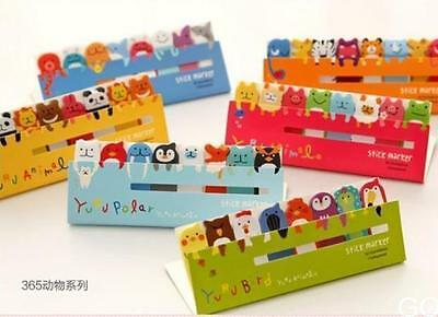 120 Page Cute Animal Sticker Post-It Bookmark Marker Memo  Sticky Notes