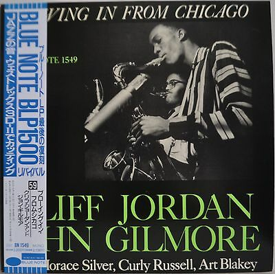 Cliff Jordon John Gilmore Blowing In From Chicago Blue Note Japan LP Toshiba Obi