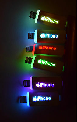 LED 8 Pin USB Data Sync Charger Charge Cable Cord For iPhone 5 5S iPhone 6 6S