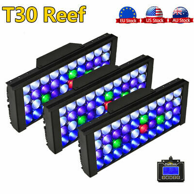 3 x 165W LED Aquarium Light for SPS/LPS Coral Reef Marine Full Spectrum Dimmable