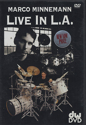 Marco Minnemann Live in L.A. LA Drum Perfromance DVD with Interview