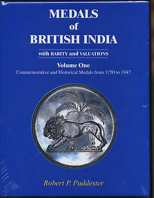 Medals Of British India Vol 1 By Robert P Puddester