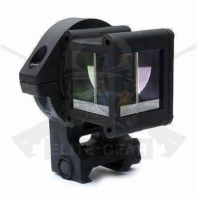 Tactical 360 Degree Rotate Corner Reflect Angle Sight fits Red Dot Holographic