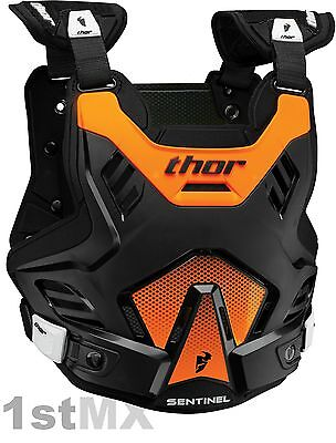 THOR Sentinel GP Body Armour Kids Chest Protector Motocross MX Orange Youth
