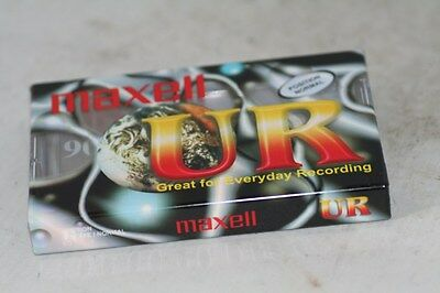 Maxell  Ur 90  Tape  New  Sealed.