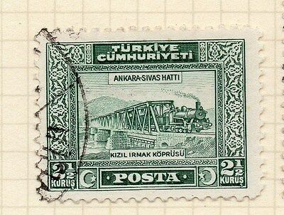 Turkey 1930 Early Issue Fine Used 2.5k. 066034