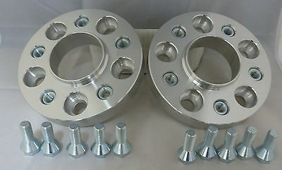 Audi A5 2007 On 20mm Alloy Hubcentric Wheel Spacers 5x112 66.6
