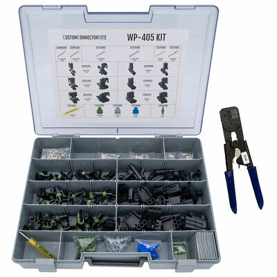 WP-405 - Pro Weather Pack Connector Kit w/ 12014254(T-12) Crimp Tool