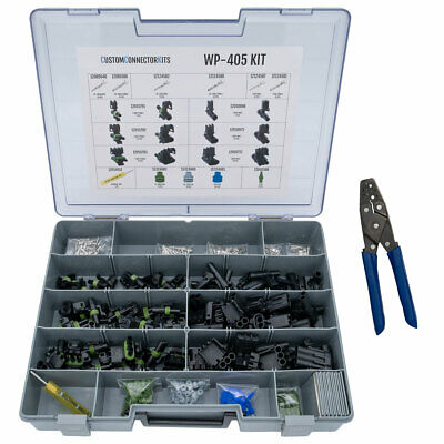 WP-405 - Pro Weather Pack Connector Kit w/ T-18 Crimp Tool