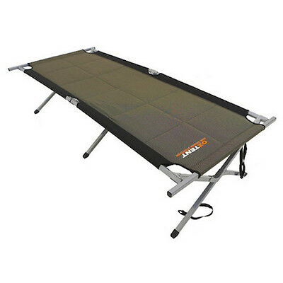 OzTent KING GOANNA CAMPING COT STRETCHER FULLY PADDED RATED 330 POUNDS OZKGS