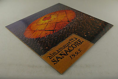 ALMAMEGRETTA - Sanacore 1.9.9.5 LP! 1°ST ITA Press! EX Copy! Original Inner!