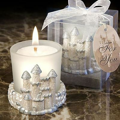 Set of 6 Once Upon A Time Fairy Tale Candle Wedding & Party Favours