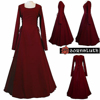 MEDIEVAL Renaissance dress ELEONORE, Tailor Made in Germany, XS S M L XL