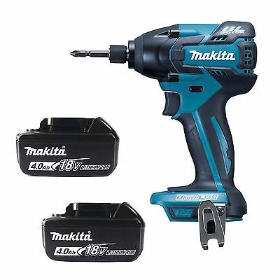 MAKITA 18V LXT DTD129Z IMPACT DRIVER & 2 x BL1840 BATTERIES FUEL CELL INDICATOR