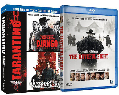 TARANTINO COLLECTION + THE HATEFUL HEIGHT (3 BLU-RAY) regia di QUENTIN TARANTINO