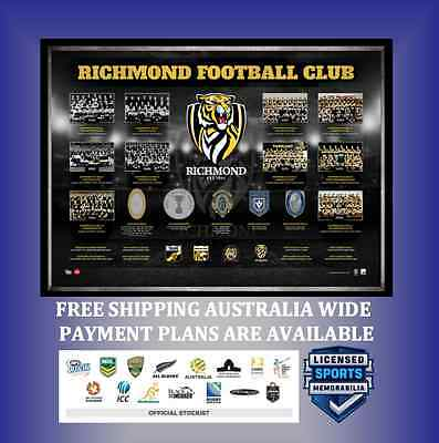 Richmond Tigers The Historical Series – Framed $299