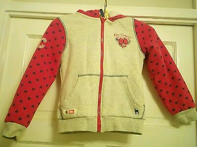Lovely condition Lee Cooper fleece lined jacket 7-8 years