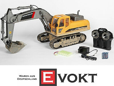 Carson RC Crawler Excavator 2.4 GHz Fully Functional Model Car 1:12 Genuine New