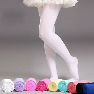 5 Candy Colorful Girls Kids Tights Opaque Pantyhose Ballet Velvet Dance Socks