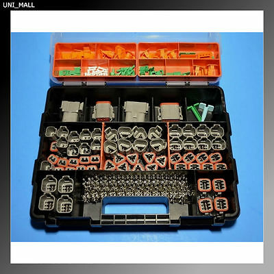 448 PCS DEUTSCH DT Genuine Connector Kit + Removal Tools, USA