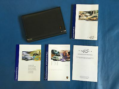 Rover 45 Owners Handbook (With Leather Wallet)