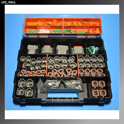 448 PCS DEUTSCH DT Genuine Connector Kit with 14 AWG Solid Contacts, USA
