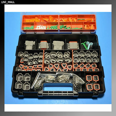 678 PCS DEUTSCH DT Genuine Connector Kit with 14-18AWG Solid Contacts, USA