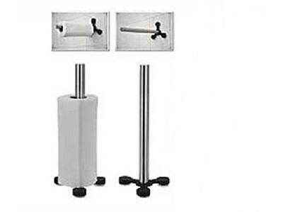 Kitchen Tissue Towel Roll Holder Wall Stand