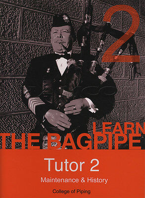 Highland Bagpipe Tutor Part 2 Sheet Music Book with DVD Learn How To Play
