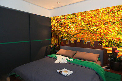 Lush Maple Tree Wall Murals Wallpaper Decal Decor Home Kids Nursery Mural