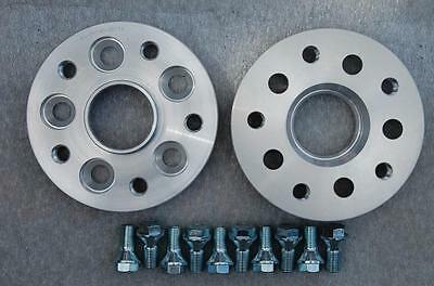 5x112 20mm ALLOY Hubcentric Wheel Spacers VW T4 Scirocco Passat New Beetle