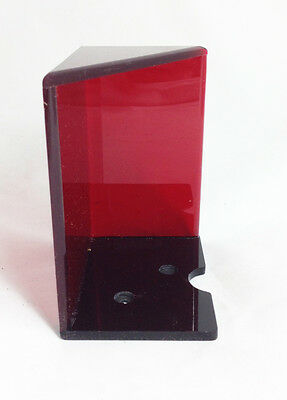 Trademark 6 Deck Discard Holder (red) With Top Card Holder (Red)