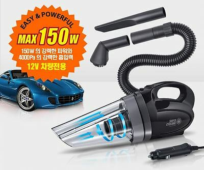 150W Super Car Portable Handheld Vacuum Cleaner Auto Super Cyclone Wet & Dry New