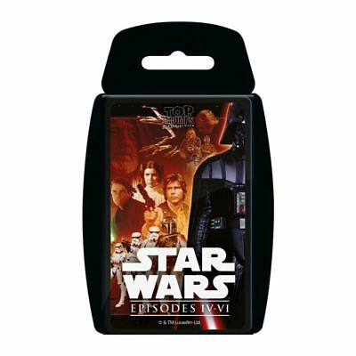 Top Trumps Star Wars Episodes 4 - 6 2016 Card Game Brand New