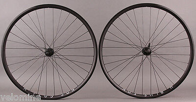 H Plus Son Archetype 28h Shimano RS505 Road CX Disc Brake Hubs Wheelset 9 10 11s