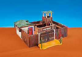 Playmobil Add On #6427 Western Fort! New Factory Sealed!