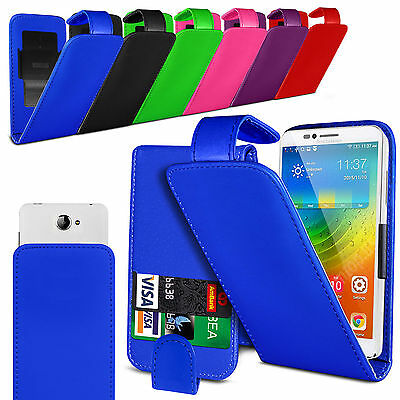 Clip On PU Leather Flip Case Cover Pouch For HTC One M9+ Supreme Camera