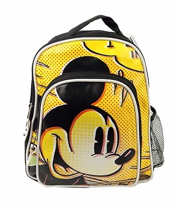 "Disney Mickey Mouse  Kids  Medium size School Backpack 12"" Boys Book bag New"