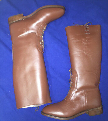 British or American Officer Semi-Dress Riding Boots Size 8 New