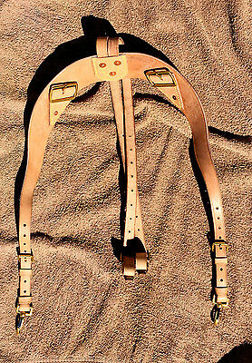Canadian 1915 Pattern Oliver Leather Yoke (Shoulder straps)