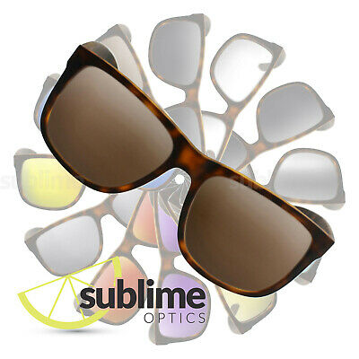 POLARIZED Dark Brown Replacement Lenses for Ray Ban RB4165 Justin 54mm  ~ Bronze