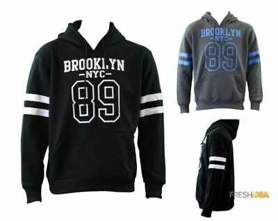 NEW Men's Adult Unisex Hoodie Jumper Pullover Casual Sports - BROOKLYN 89