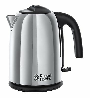 Russell Hobbs 20410 Hampshire Kettle, 1.7 L, 3000 W - Stainless Steel - New