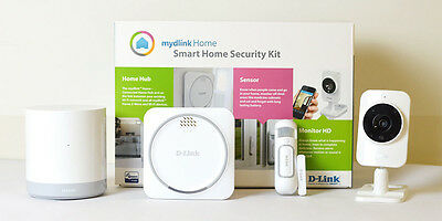 D-Link mydlink Home Security Starter Kit - Z-Wave
