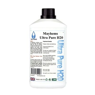 Mayhems Ultra Pure H2O 1 Liter Water Cooling Fluid