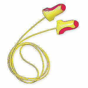Howard Leight Laser Lite High Visibility Corded Disposable Earplugs (100-Pairs)